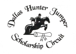 Logo for Dallas Hunter Jumper Scholarship Circuit